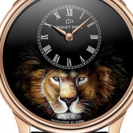 Jaquet Droz представил часы в честь льва – царя зверей