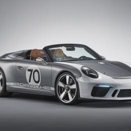 Porsche создал особый 911 Speedster Concept в честь своего 70-летия