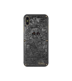 iPhone X Carbon Boss Inkvaders