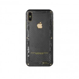 iPhone X Carbon Boss Yellow Gold