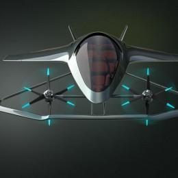 Aston Martin представил концепт летающего автомобиля