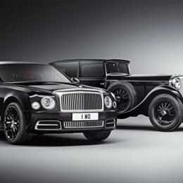 Bentley отпразднует 100-летие особым Mulsanne