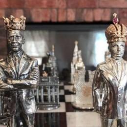 Шахматы из серебра Современная история