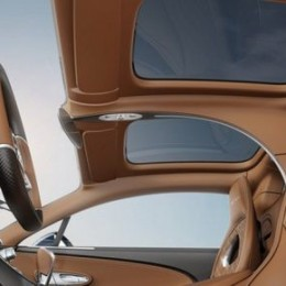 Солнечная крыша Bugatti Chiron