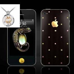 Акция: iPhone 4 Sun Protuberance + подарок эксклюзивная подвеска с бриллиантами