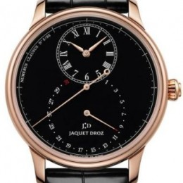 Jaquet Droz Grande Seconde Deadbeat Black Enamel