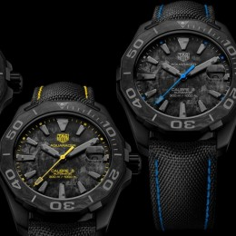 Часы Carbon Aquaracer Calibre 5 от TAG Heuer поражают воображение