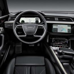 Audi E-Tron - конкурент Tesla Model X уже здесь