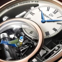 Jaquet Droz - единственные в мире наручные часы с певчей птице
