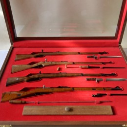 Набор 4 винтовок Защитники Москвы