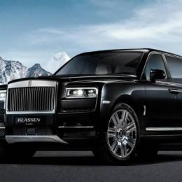 Машина олигарха – пуленепробиваемый лимузин Rolls Royce Cullinan
