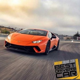 Журнал Motor Trend назвал Lamborghini Huracán Performante лучшей машиной 2018 года
