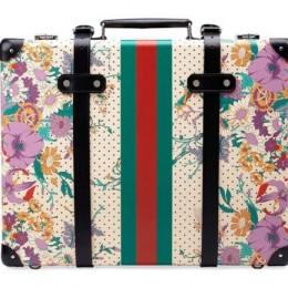 Gucci и Globe Trotter создали коллекцию чемоданов