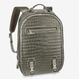Louis Vuitton представляет рюкзак за 79 000 $ из редкой крокодиловой кожи