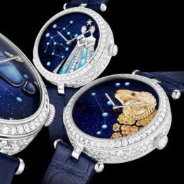 Новые астрономические часы от Van Cleef & Arpels
