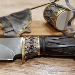 Нож на подставке Бородино