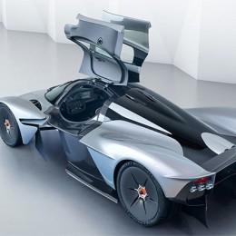 Новый Valkyrie – первый гиперкар Aston Martin
