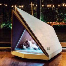 Собачий домик от Ford с шумоподавлением – чтобы песик не боялся салюта