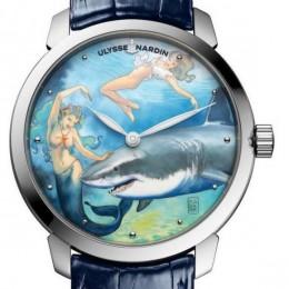 Новые часы Ulysse Nardin – история подводной эротики
