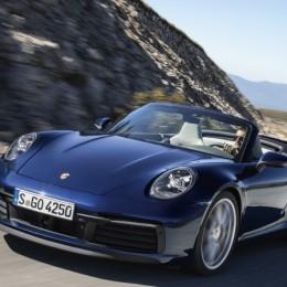Новенький кабриолет Porsche 911 уже здесь