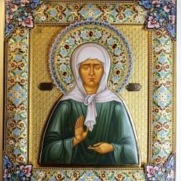 Икона Святая Матрона (30 см)