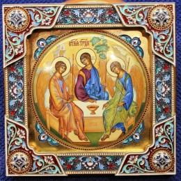 Икона Святая Троица (20 см)