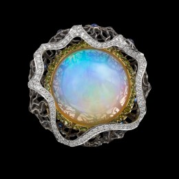 Кольцо «Спящая красавица» (опал 33 ct)