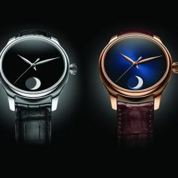 Часы H. Moser & Cie. Endeavour Perpetual Moon влекут на темную сторону