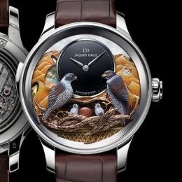 Jaquet Droz создали уникальные часы в честь культуры ОАЭ