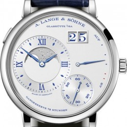 Часы Grand Lange 1 Moon Phase стали сине-серебристыми в честь своего 25-летия