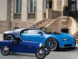 Полностью электрический Bugatti Baby II всего за 33000 $