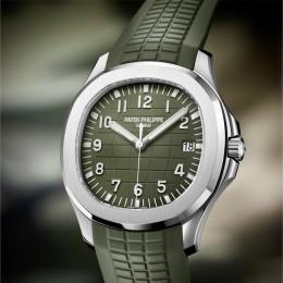 Новые часы Patek Philippe Aquanaut 5168G для Baselworld 2019