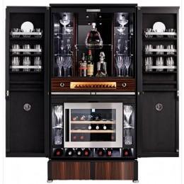 Стильный бар для напитков и сигар от Buben&Zorweg