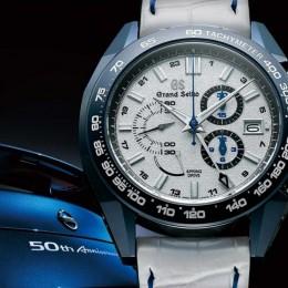 Часы Grand Seiko в честь 50-летия Nissan GT-R