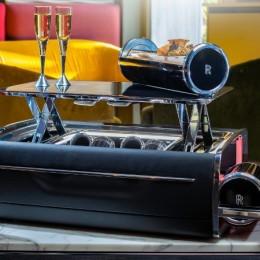 Рай для эпикурейцев: кейс для шампанского от Rolls-Royce