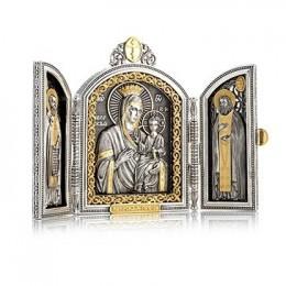 Складень «Иверская Богоматерь»