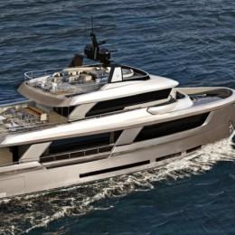 Ocean King показала модель своей яхты New Classic 108