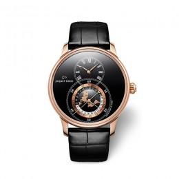 Часы Jaquet Droz Grande Seconde Dual Time в честь любимого хобби основателя бренда – путешествий