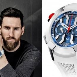 Jacob & Co. и Лионель Месси создали уникальные часы с благотворительными целями