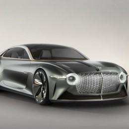 Bentley EXP 100 GT - показал будущее электромобилей