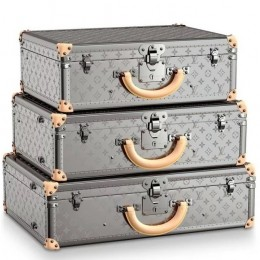 Louis Vuitton Monogram Titane – коллекция багажа для путешествий на стиле