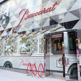Отель Baccarat в Нью-Йорке и Lady M представили первый в мире роскошный торт-трак
