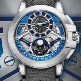 Harry Winston представил новые часы из высокотехнологичного сплава залиум
