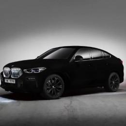 Этот BMW X6 – самый черный из всех