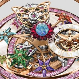 Jacob & co Fleurs de Jardin – женские часы, в которые невозможно не влюбиться