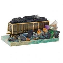 Интерьерный сувенир «Вагон с рудой»