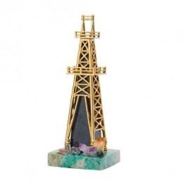 Настольный сувенир «Нефтяная вышка»