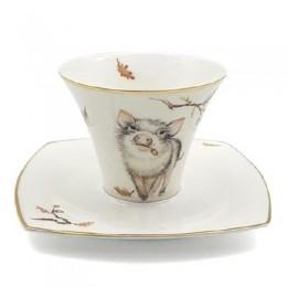 Чайный набор «Кабанчик»