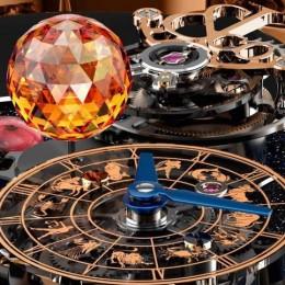 Фантастические часы Jacob & Co. Astronomia Clarity