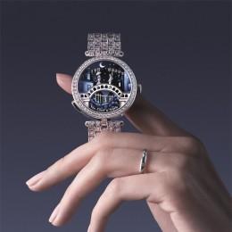 Часы Lady Arpels Pont des Amoureux – поэзия времени и любви